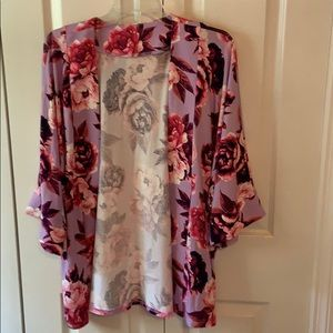 Flowered Cover up. NWT.